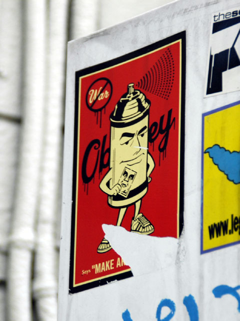 OBEY - STICKER