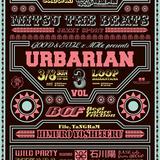 """GOOD & EVIL × MHz presents """"URBARIAN vol.3"""""""