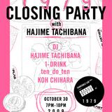 [1979] CLOSING PARTY with HAJIME TACHIBANA
