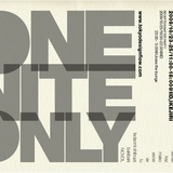 ONE NITE ONLY -The history of LAST THURSDAY URBAN ART