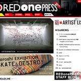 現在形のストリートアート/カルチャーを紹介するポータルサイト『RED one PRESS』オープン!