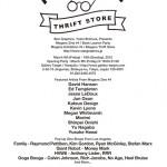 アメリカ西海岸のアーティストと日本の若手アーティストによるグループ展「Megane Thrift Store」