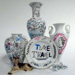 """カロリン・ロバート個展 – """"Time Travel"""" in Tokyo – Calm and Punk galleryにて開催"""