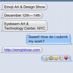"""絵文字カルチャーのいまを伝えるエキシビジョン """"Emoji Art & Design Show"""" がNYのEYEBEAMにて開催 – 現在作品募集中"""
