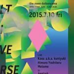クリエイティブスタジオ/アーティスト集団 JKD Collectiveによる3周年パーティー/ライブイベント 7月10日、THE ROOM DAIKANYAMAにて開催